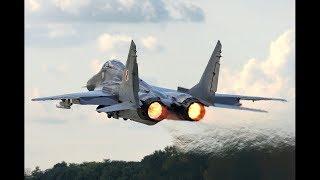 MiG-29 start-up to shut down - Polish Air Force - Kleine Brogel Air Base