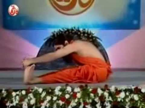 baba ramdev 10 asanas to loose weight english yoga health