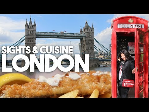 Travel London | Sights & Cuisine Vlog | Kravings