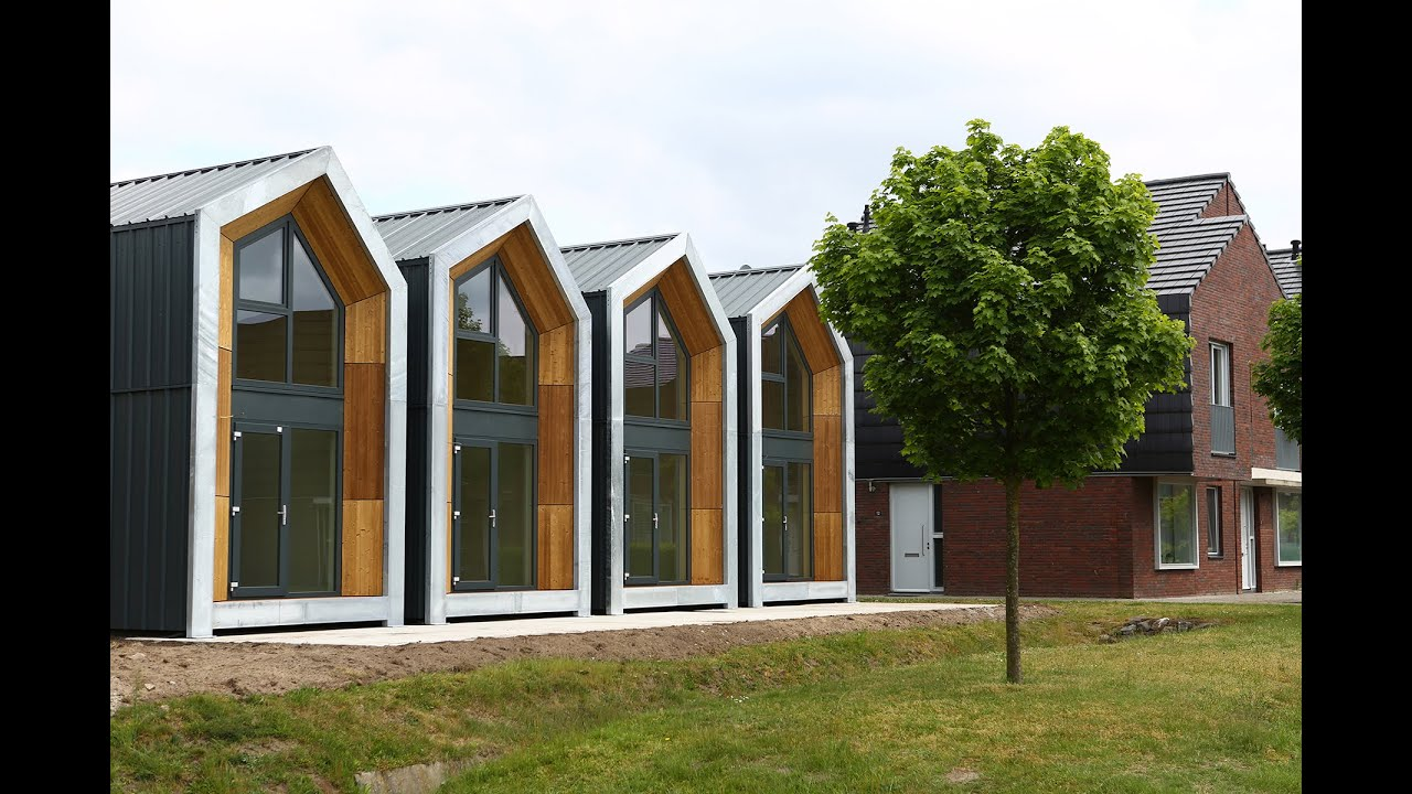 Heijmans ONE - Movable home for single home households & Heijmans ONE - Movable home for single home households - YouTube