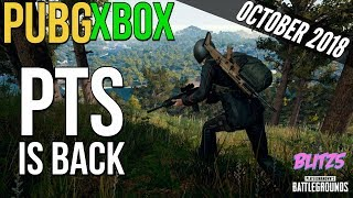 PUBG Xbox: PTS is back (October Update)