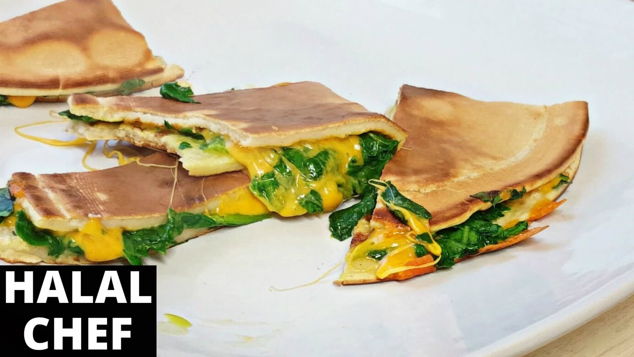 Tasty spinach cheese pancake recipe how to make pancakes halal tasty spinach cheese pancake recipe how to make pancakes halal chef ccuart Choice Image