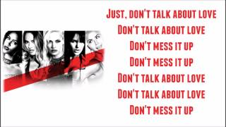 G.r.l. Don 39 t talk about love Lyrics.mp3