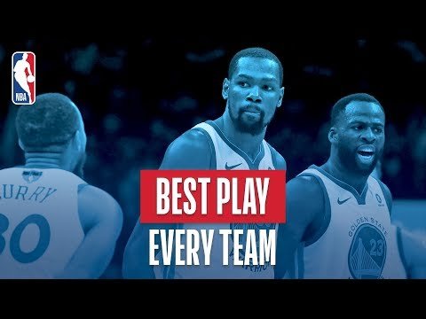 Best Play From Every NBA Team | 2017-2018 NBA Season