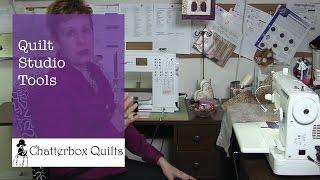 Tools For Your Quilt Studio - Quilt Studio Set-up Episode 3