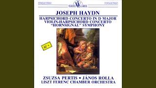 Harpsichord Concerto in D Major: II. Un poco adagio