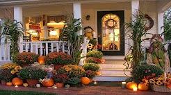 Thanksgiving Outdoor Decor You