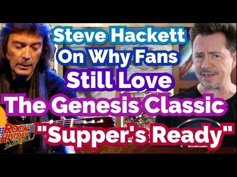 """Steve Hackett Explains Why Fans Still Crave """"Supper's Ready"""" By Genesis & Why He Had To Leave"""