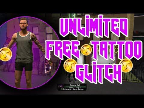 *NEW* NBA 2K19 UNLIMITED FREE TATTOO GLITCH!!