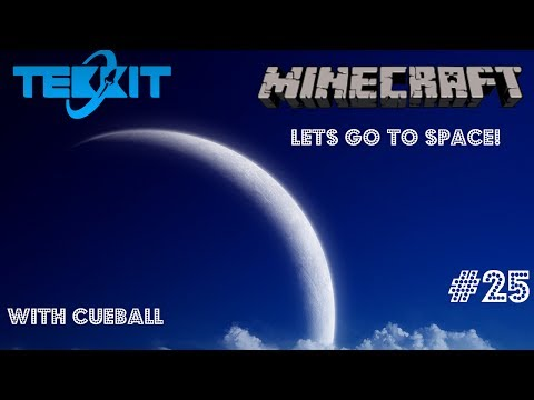 Minecraft: Lets Go To Space! BioFuel Generator - Part 25