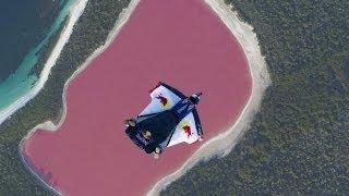 パターンピンク、グラデーションです。鮮やかなピンクが美しいオーストラリア、ヒリアー湖