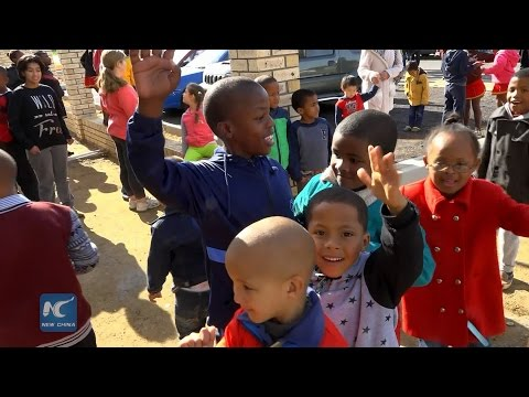 Chinese charity aids South Africa children