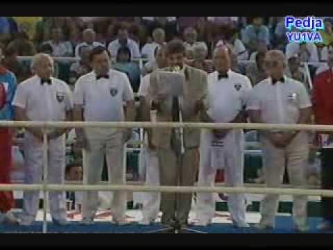 JUGOSLAVIJA - SAD boks Umag 1990. - 1 deo