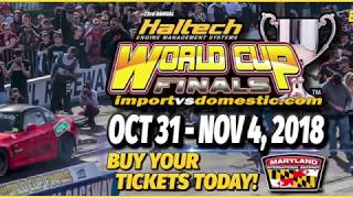 Haltech 2018 World Cup Finals Qualifying Highlights (day 2)