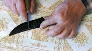 Messer selber bauen aus einem Sägeblatt./ Knife Selfmade./ Создайте свой собственный нож