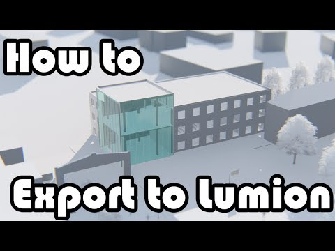 Learn Revit in 5 minutes: Export to lumion #12