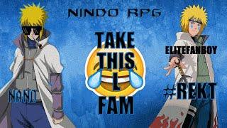 ROBLOX Naruto RPG - Nano Rekts 8th Getsugakage (EliteDexterity)