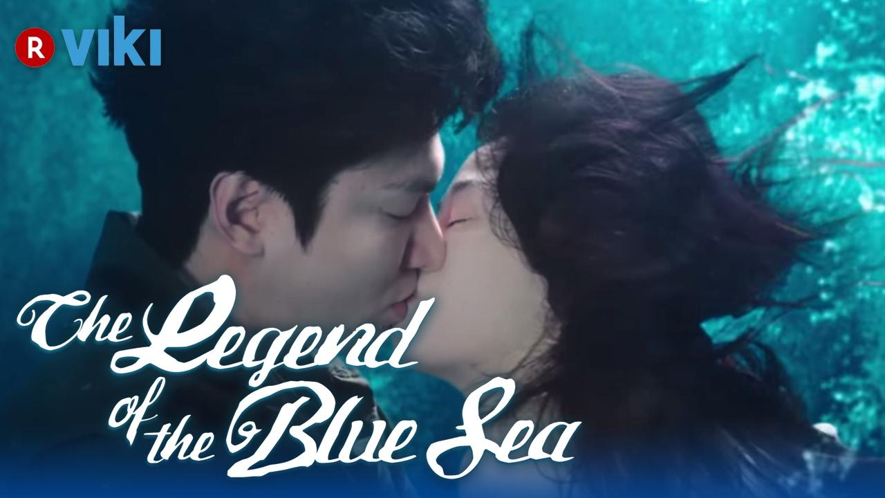 The Legend Of The Blue Sea Ep 2 Jun Ji Hyun Lee Min Ho S Under The Sea Kiss Youtube