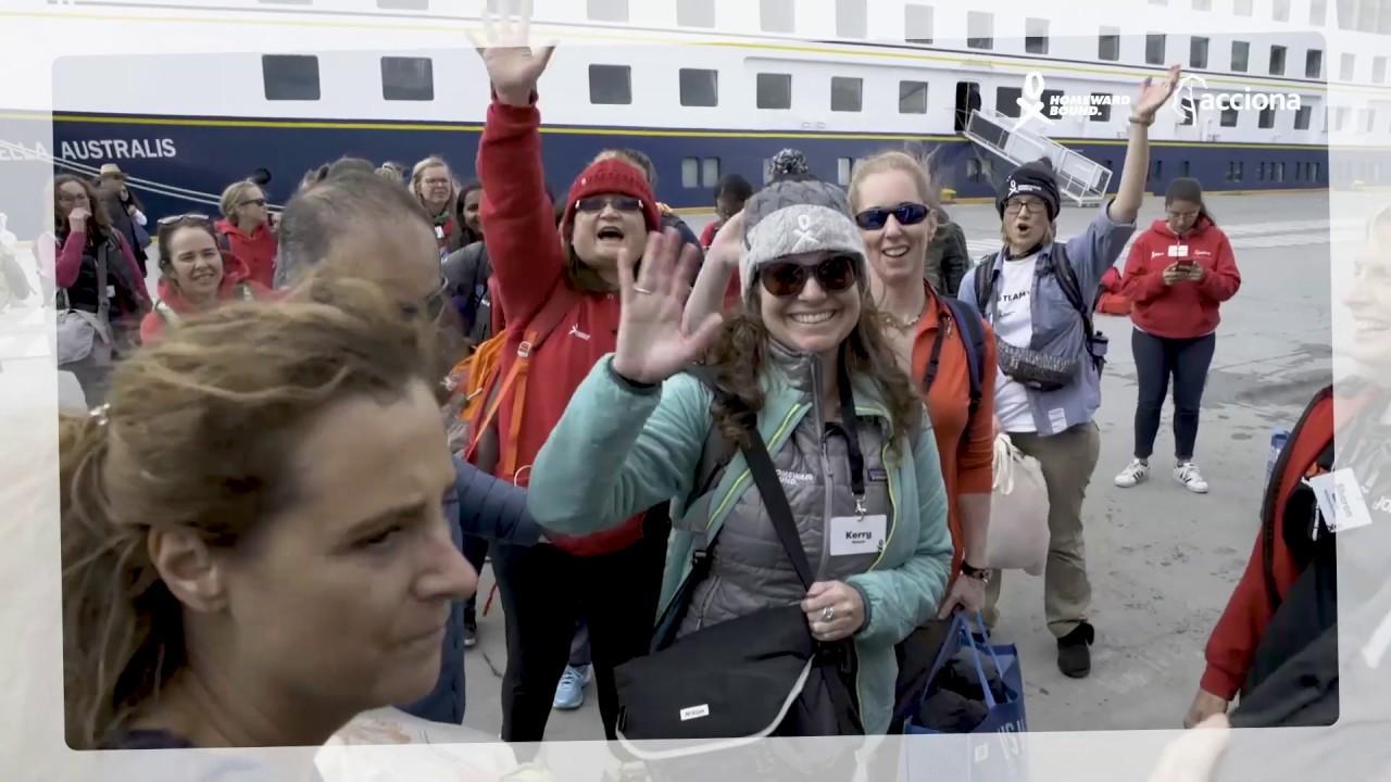 HB3 departs to Antarctica - HB3 parte hacia la Antártida | ACCIONA