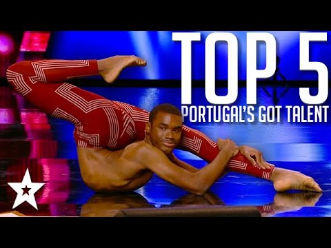 TOP 5 Auditions on Portugal's Got Talent 2020   Got Talent Global