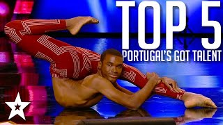 TOP 5 Auditions on Portugal's Got Talent 2020 | Got Talent Global