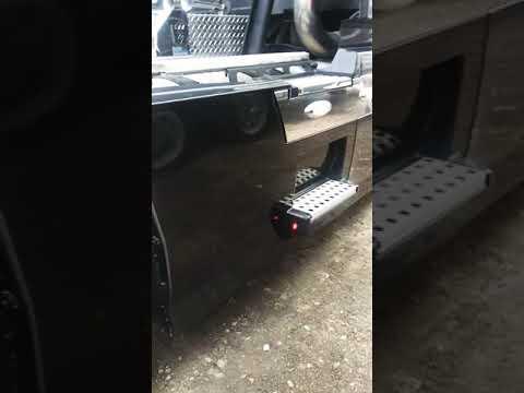 3/4 Smoke Led Clearance Lights Custom Semi Parts Am Volvo Vnl 780