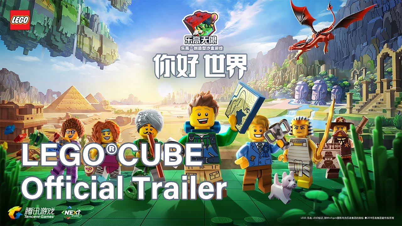 Lego®Cube Trailer | Sandbox LEGO world by Tencent (iOS/Android)