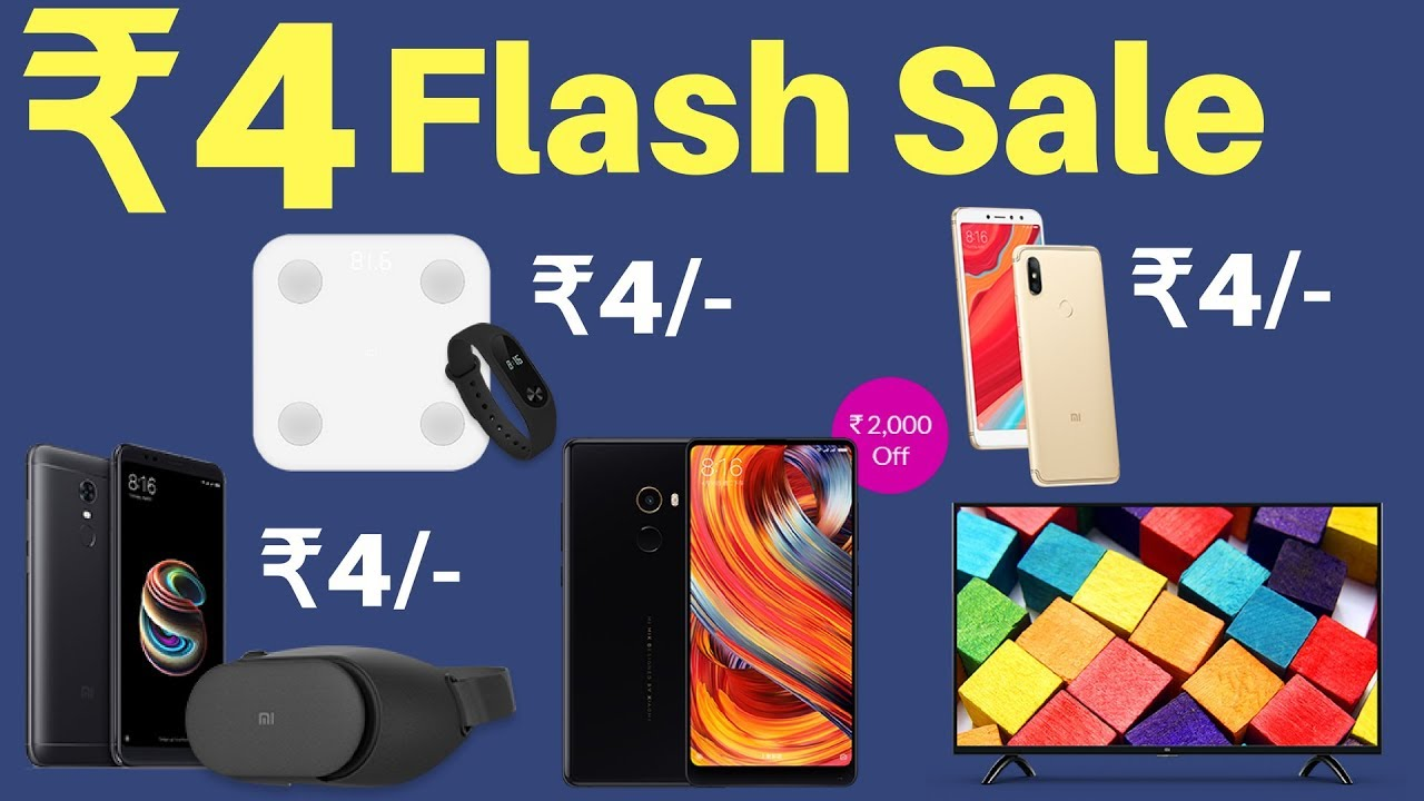 91949c37912 Xiaomi Mi 4th Anniversary Sale - Best Deals   Offers You Can Get ...