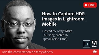 How to Capture HDR raw images with Adobe Lightroom Mobile | Educational