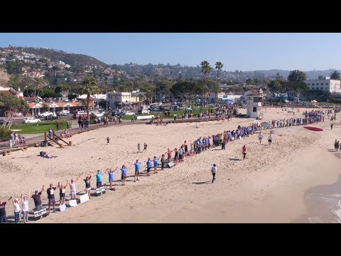 Rally Against New Offshore Oil Drilling / Laguna Beach, CA (02/03/18)