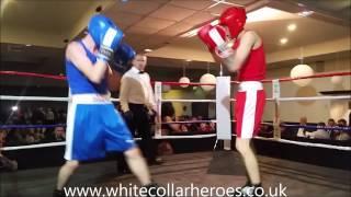 White Collar Boxing Carlisle Fight 3