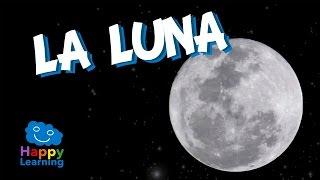 La Luna | Videos Educativos para Niños