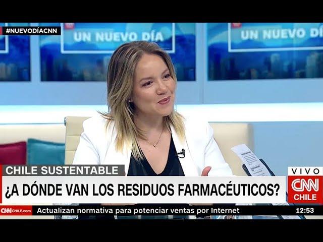 Cata Droguett CNN  - Residuos de medicamentos