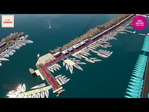 YACHTING FESTIVAL - SAILING AREA - PORT CANTO 2019 - CANNES
