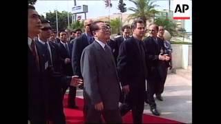 ISRAEL: CHINESE PRESIDENT JIANG ZEMIN VISIT