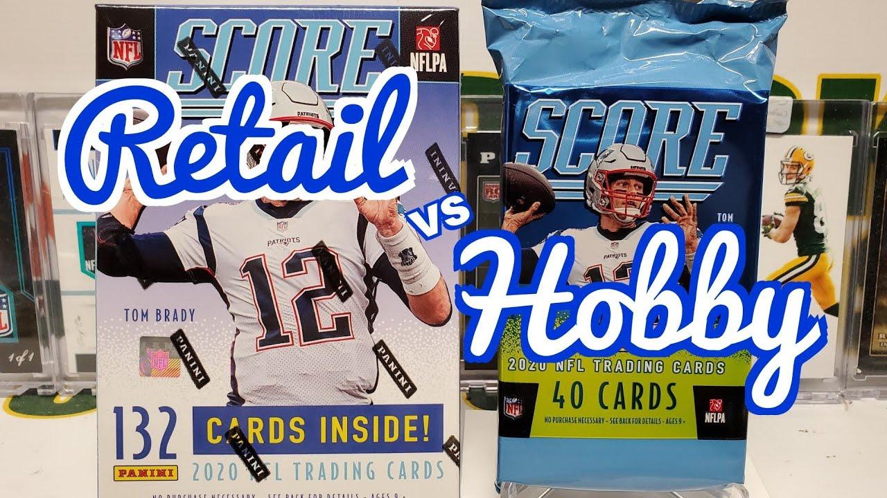 RETAIL vs HOBBY : 2020 Score Football