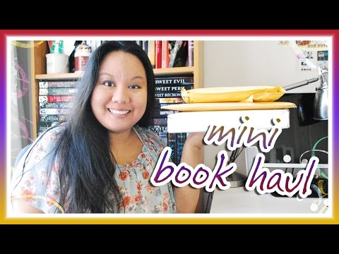 Book Haul Unboxing #100: MINI BOOK HAUL Edition (September 2015)