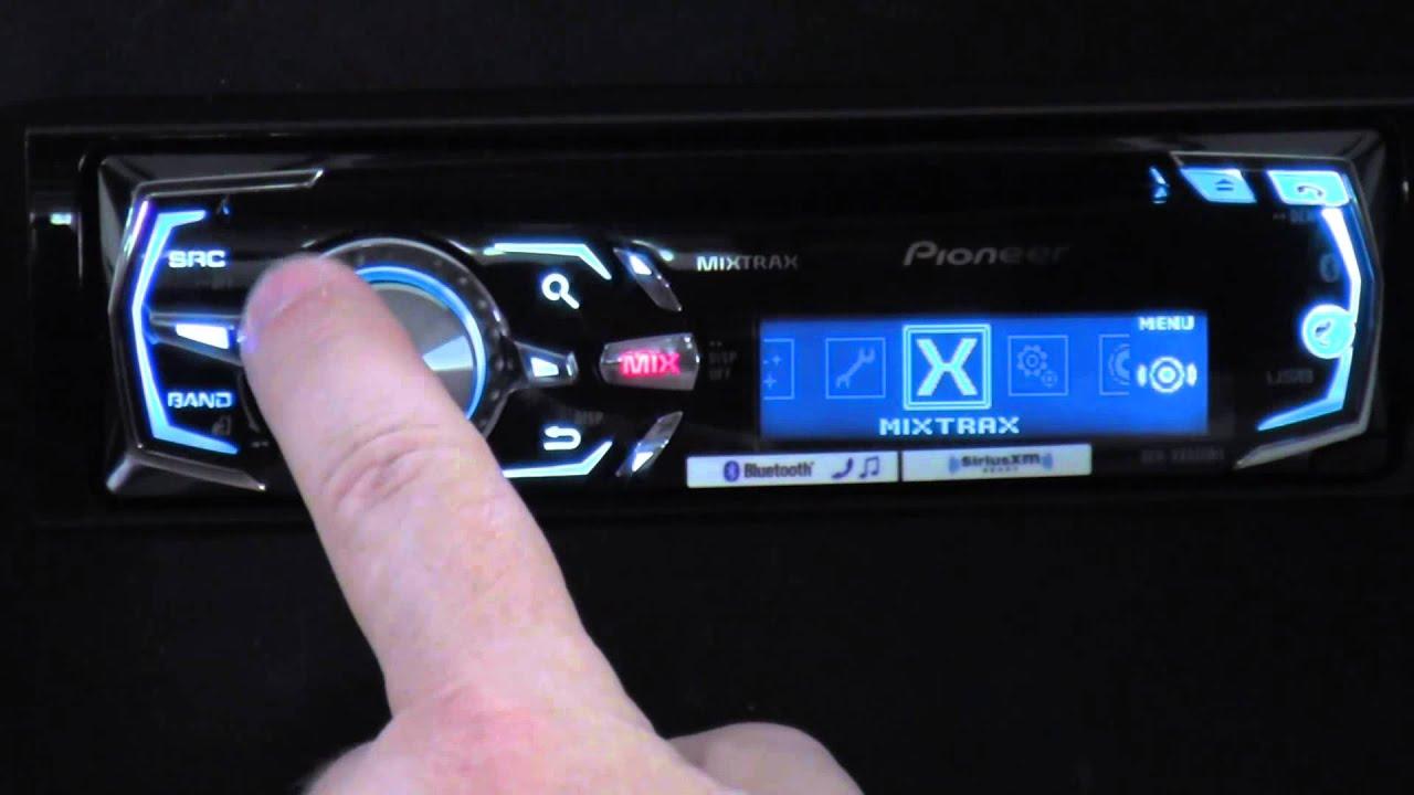 PIONEER DEH X8550BT PDF DOWNLOAD