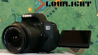 Canon EOS 700D / T5i - low light video test