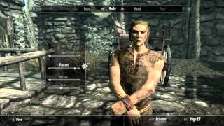 Skyrim Character Creation Guide / Walkthrough (ALL RACES, MALE AND FEMALE!!)
