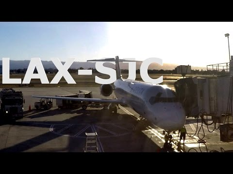 Delta B717-200 - Los Angeles to San Jose, CA - DL1358