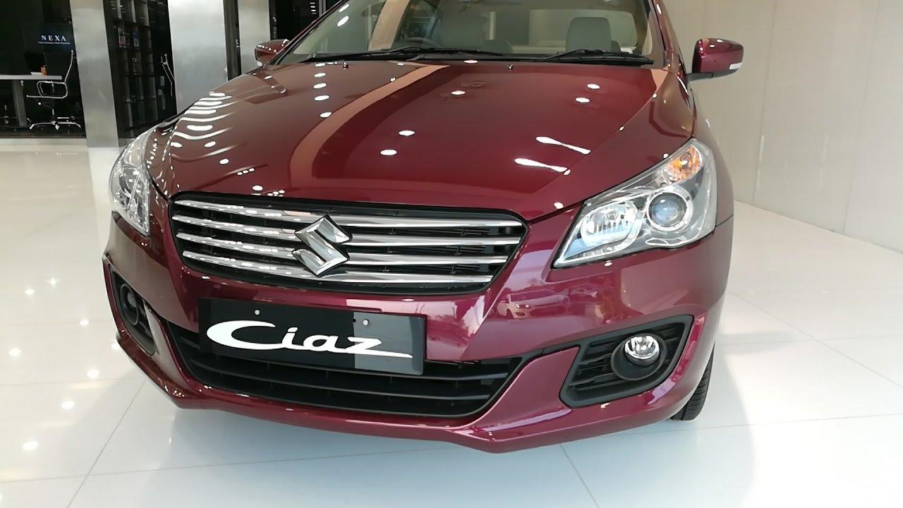 2017 Nexa Maruti Suzuki Ciaz 1 4 Zeta Petrol At Automatic Youtube