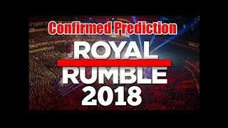Royal Rumble 2018 - WWE Match Card Entry Predictions - Shocking Moments - Suprise Returns hd