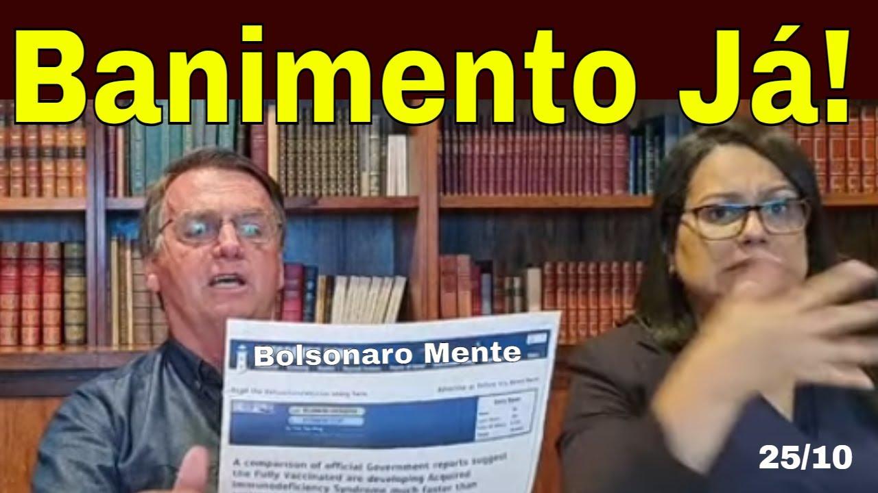 Bolsonaro nas Redes: banimento JÁ! Ou Liberou geral? Lira, Esteves e Guedes: Eles é que mandam!