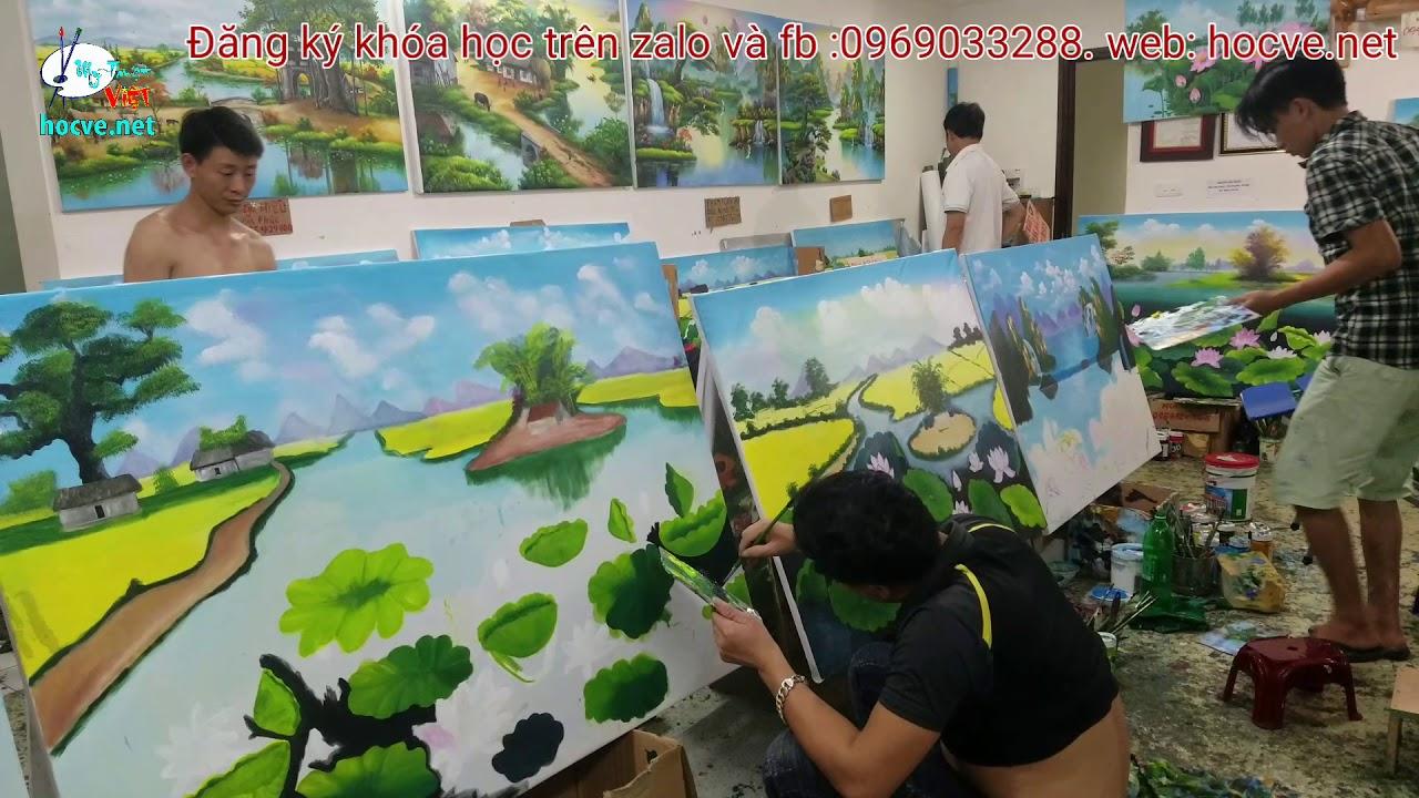 Nhật ký ngày thứ 9 khóa k6. khóa học vẽ tranh tường do trung tâm Mỹ Thuật Việt tổ chức.