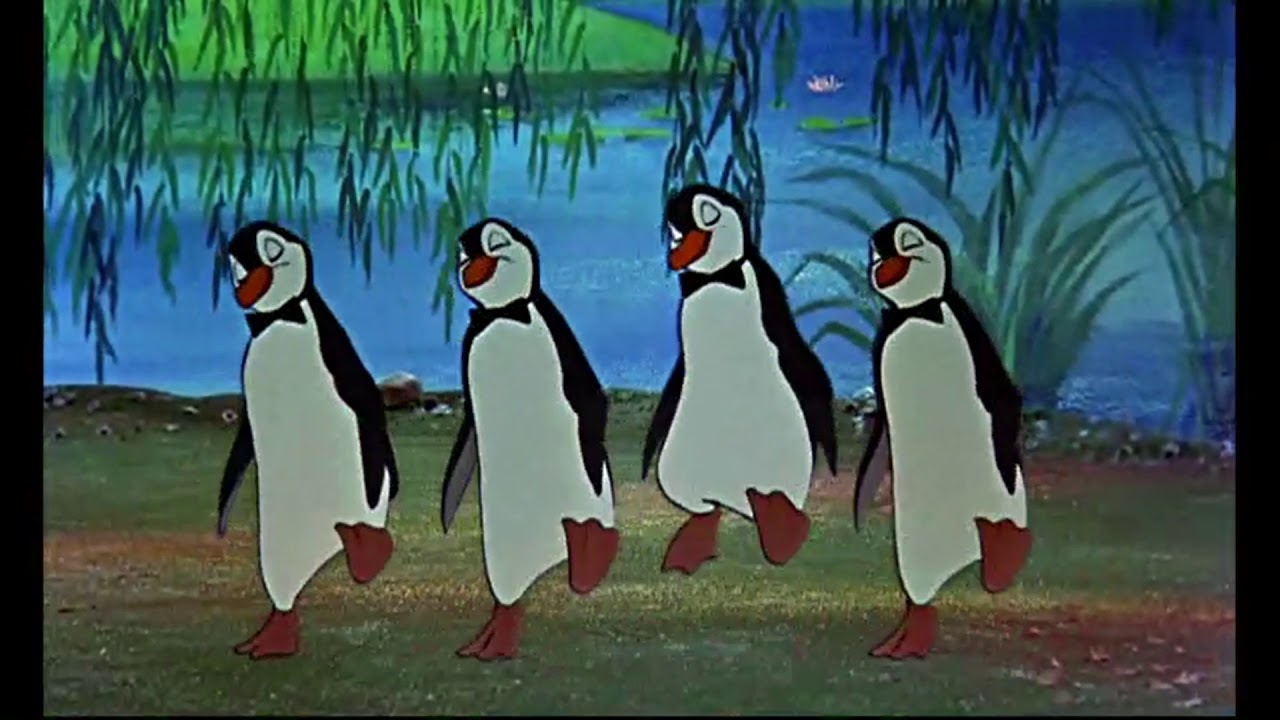 Pingouin Mary Poppins Mary Poppins 1964 The Penguin Dance