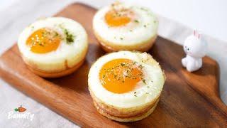 계란빵 만들기 Korean Egg Bread(Gyera…