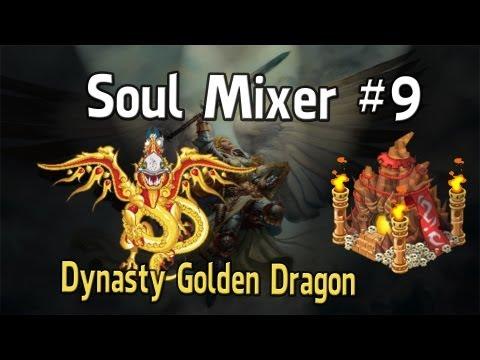 Social Empires - Soul Mixer #9 Golden Dynasty Dragon + Rider