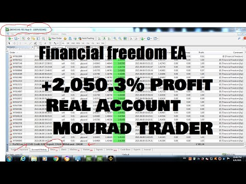 The BEST Forex Robot 2021:On Real acc +2,050.3% Profit