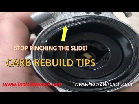 CV slide lift trick: HOW TO VERIFY CARBURETOR SLIDE LIFT OPERATION